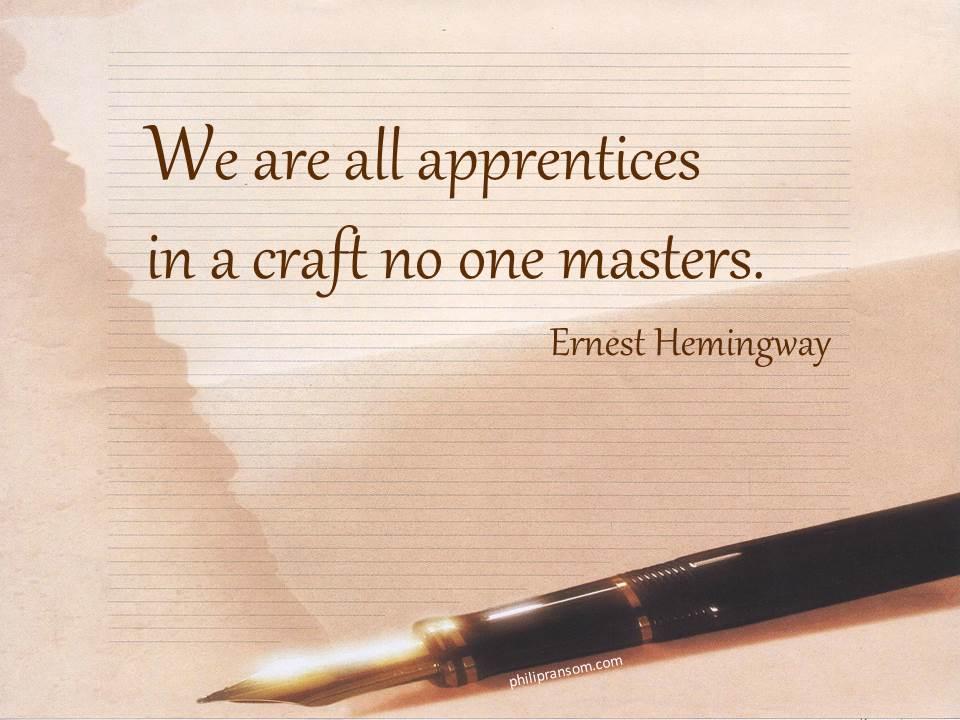 Apprentices - E Hemingway